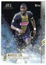 2015 Topps APEX MLS Soccer #54 Maurice Edu  Philadelphia Union