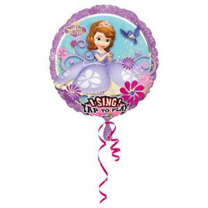 Sofia The First singender Folienballon Sing-a-Tune Ballon Luftballon Frozen