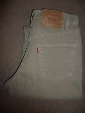 Cotton High Rise Tapered 30L Jeans for Men