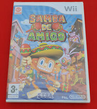 Jeu Samba de Amigo Wii NEUF