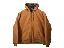 Pacific Trail Hooded Work Jacket Coat sz XXL Chestnut Quilted Lining NWOT