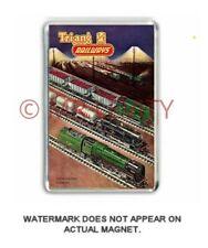Tri-ang (Triang) TT GAUGE RAILWAYS - CATALOGUE COVER  - JUMBO FRIDGE MAGNET (B)