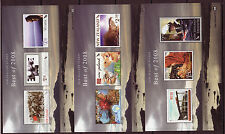 NEW ZEALAND 2008 STAMP REWARDS BEST OF 2008, 3 SHEETS UNMOUNTED MINT, MNH