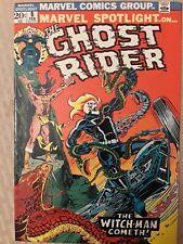 GHOST RIDER.. MARVEL SPOTLIGHT #8 4th GHOST RIDER APPEARANCE! HIGHER GRADE!