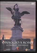 """FILM DOCUMENTARIO DVD """"OMAGGIO A ROMA"""" (F.ZEFFIRELLI-A.BOCELLI-M.BELLUCCI) RARO"""