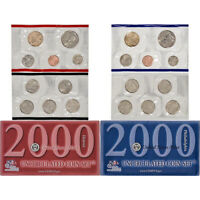 2000 United States Mint Uncirculated Coin Set (U00)