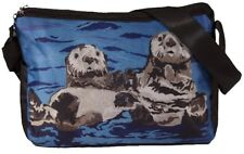 Sea Otter Messenger Bag-Support Wildlife Conservation- From my Painting