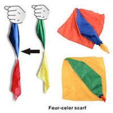 tour de magie foulards changeant de couleurs