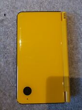 Nintendo YELLOW DSi XL console with 11 games