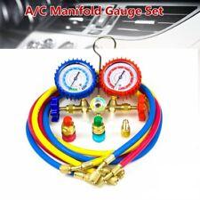 R134a R12 R22 R502 Ac Manifold Gauge Set Hvac Refrigeration Charging Service