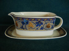 Mikasa Bordeaux CAA35 Gravy Boat with Separate Under Plate
