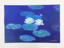 """Lens cloth - Microfiber - Fine Art Design: """"Waterlilies"""" by Monet  - Unique"""