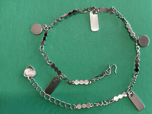 925 Sterling Silver Plated Fashion Anklet LV545