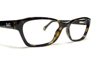Dolce & Gabbana D&G1216 502 Women's Tortoise Cats Eye Rx Eyeglasses Frames 52/16