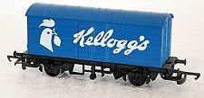 HORNBY R222 KELLOGGS CLOSED VAN, GOODS WAGON, SUIT TRI-ANG LIMA MODEL TRAINS