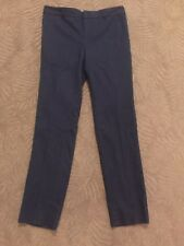 Banana Republic Reegan Slim Fit Mid Rise Navy Lined Dress Pants Sz- 0 - NEW! $80