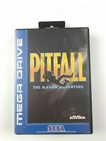 Pitfall The Mayan Adventure | Sega Mega Drive Game | Complete With Manual