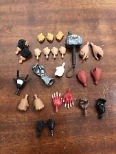 1/12 Scale Action Figure Hands Custom Fodder Lot Marvel Legends DC