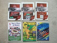 souvenir list wembley stadium end of an era c2000 issue type 1