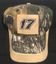 Matt Kenseth 17 Adjustable Hat - Camo - NASCAR New! Free Shipping!