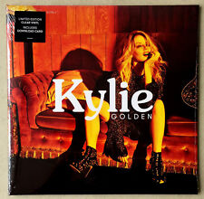 KYLIE MINOGUE * GOLDEN * LIMITED EDITION CLEAR VINYL * NEW & SEALED! * DANCING