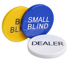 Big Blind, Small Blind & Dealer Button,Poker buttons,Texas hold'em buttons