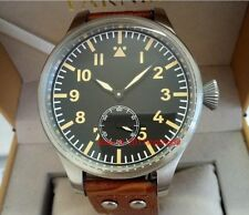 Parnis 55mm large size pilot Men's Watch Mechanical Hand-winding watch