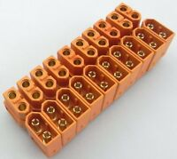 NEW 20Pcs 10Pair XT60 Male Female Bullet Connectors Plugs For RC LiPo Battery U