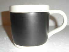 Starbucks Chalkboard Coffee Mug Black & White 2009 18 oz Nice Collector's Cup