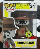 Funko pop watchmen rorschach comic con figura tv figure anime manga vinyl