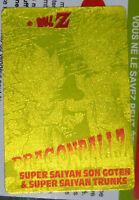 DRAGON BALL Z DBZ AMADA PP PART 26 CARDDASS CARD PRISM CARTE 1182 GOLD JAPAN NM