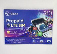 Globe Prepaid Tri-cut Sim Card International Roaming ReadyUs Seller Exp Oct2019
