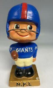 """Vintage 1962 New York Giants Football Bobbing Bobble Head Nodder Doll """" RARE """""""