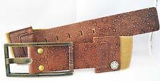 Obey Girl Genius Leather Belt name CREEK WEBBELT M Size