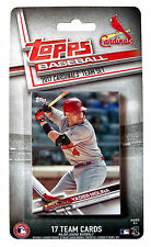 2017 Topps St. Louis Cardinals Baseball ~ 17-Card Factory Sealed Team Set