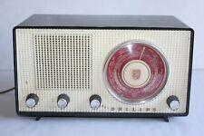 "Ancien poste de radio "" Philips ""en bakélite réf FK42198"