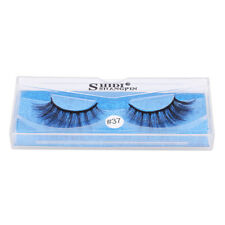 3D Womens Mink Hair False Eyelashes Wispy Cross Eye Lashes Fluffy Extension Sl3