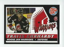 2006-07 Moose Jaw Warriors (WHL) Travis Ehrhardt (Glasgow Clan)