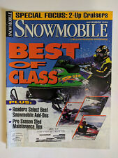 March 1997 Snowmobile Magazine Arctic Cat Ski-Doo Polaris Yamaha