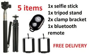 Telescopic Selfie Stick Bluetooth Tripod Monopod Phone Holder For iPhone Android