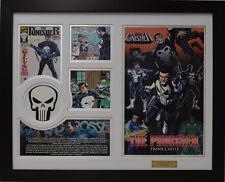 The Punisher Marvel Comics Limited Edition Framed Memorabilia (w)