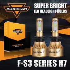 AUXBEAM H7 Super Bright 8000LM LED Headlight Bulbs High/Low Beam/Fog 6500K Kit