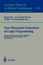 Non-Monotonic Extensions of Logic Programming: ICLP '94 Workshop, Santa Margheri