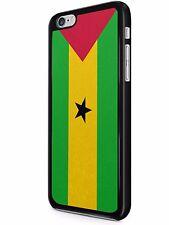 Bandera País IPHONE 6/7 Funda Sao Tomé y príncipe