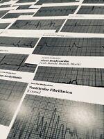 EKG ECG Cardiac ACLS Rhythm Strip Flashcards EMT RN PARAMEDIC MEDIC