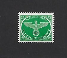 Mint stamp  / Military / Feldpost / 1944 WWII emblem / MNH Third Reich issue