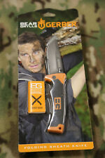 Gerber Bg (Bear Grylls) Folder Knife # 31-000752 Steel Drop Point Blade