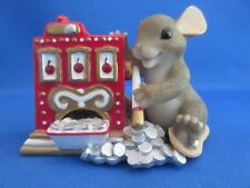 """Charming Tails Fitz And Floyd """"Jackpot� Limited Edition 82/116 in Original Box"""