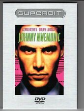 Johnny Mnemonic (1995) DVD case & sleeve & disc NM PRIVATE COLLECTION