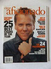 "BN, rare, ""Cigar Aficionado"" - Kiefer Sutherland - Feb. 2006 - mint condition."